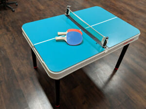 Mini Ping Pong/Tennis Table set for sale