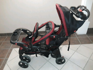 ***EUC DOUBLE STROLLER FOR SALE!!!***
