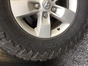 Looking to trade tires and rims