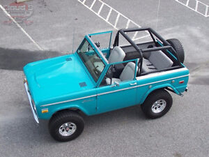 FORD BRONCO TUB BODY AND INTERIOR