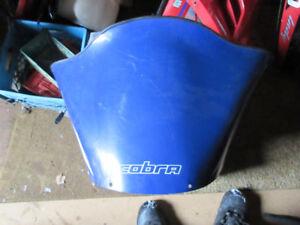cobra windshield SRX