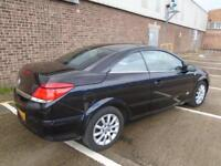 2007 (57) VAUXHALL ASTRA TWIN TOP CONVERTIBLE SPORT 1.6 PETROL ONLY 65,000 MILES