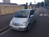 MERCEDES A CLASS A210 SPORTS AUTO, 53PLATE LOW MILEAGE 72000