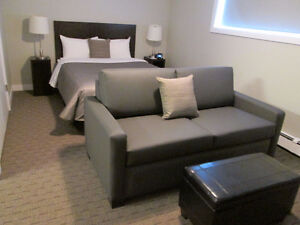 Immaculate  Furnished Studio - heat/water/elec/cable/wifi incl.