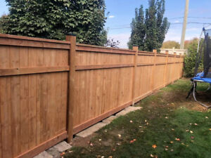 Fence Replacements / Installation - Reduced Prices