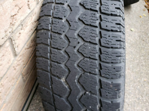 """17"""" Winter Rims And Tires"""