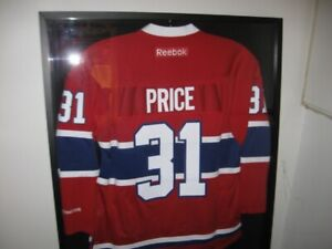 Montreal Canadiens CAREY PRICE JERSEY in a DISPLAY CASE a39a93e93