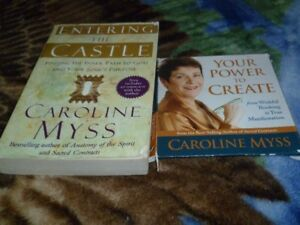 Book from Caroline Myss and a CD Audio set