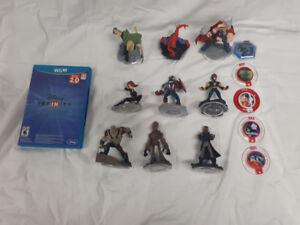 Nintendo Wii U/ Ps4 Disneys Infinite 2.0 Game-9 Characters 5Disc