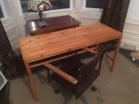Lovely Handmade Pine Desk CAN DELIVER