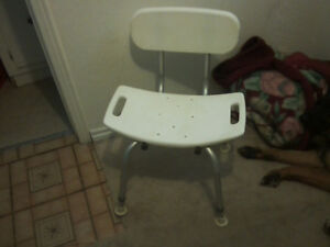 Invacare Bariatric Adjustable Bath Chair