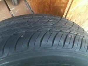 4 summer tires on rims. Oakville / Halton Region Toronto (GTA) image 4