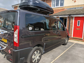 Peugeot expert tepee campervan