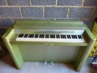 Eavestaff Mini Piano / Pianette, Art Deco style, free to anyone who can make use of it