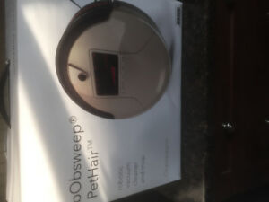 NEW Bobsweep Pethair Robotic Vacuum Cleaner and Mop
