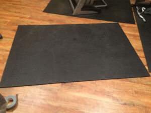 Two exercise mats