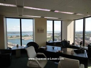 Office space for lease downtown Montreal