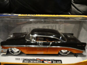 1.18 die cast 1956 chevrolet bell air in the original box never