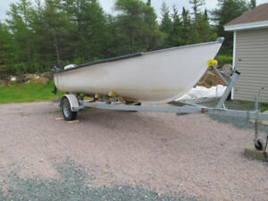 For Sale 20 ft Fiberglass boat