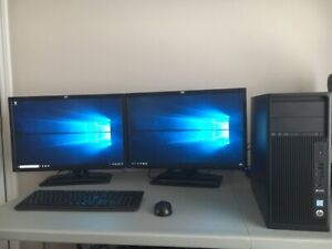 HP Z240 Tower i7 16Go Ram 1 To disque M.2 250Go