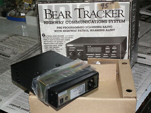 BEAR  TRACKER  COMMUNICATIONS  SYSTEM  NEW .