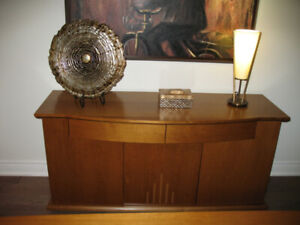 SOLID WOOD COGNAC BUFFET/CABINET