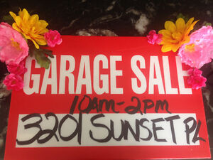 Big Renovation Garage Sale!!