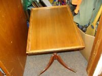 old low end table