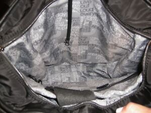 Lole Lily Tote -  Black/Grey inside with shoe bag - Like New