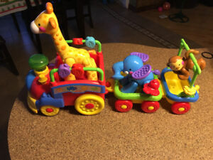 Train musical et mobile Fisher price