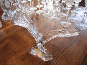 crystal eagle  very cool piece