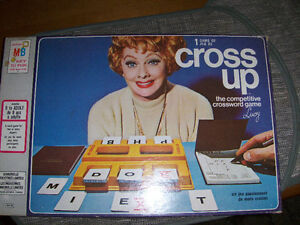 "Bezzer wizzer Game, Vintage ""Cross up"""