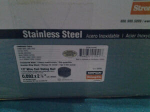 Stainless Steel siding nails