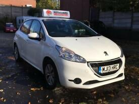 Peugeot 208 Access Plus 2013 1.0cc Stunning 5dr Petrol Manual £0 Road Tax FSH