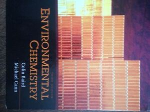 Environmental chemistry: 3rd edition