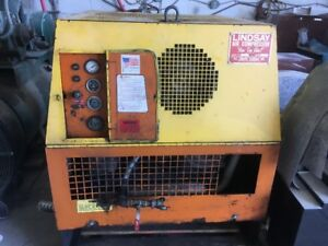 Portable diesel compressor 90cfm great working  condition