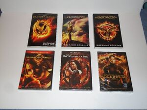 """The Hunger Games"" trilogy - complete book set with movies"