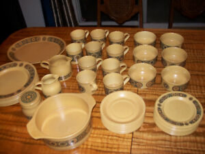 Kiln Craft Staffordshire Potteries Ironstone MCM Bacchus Lot 43