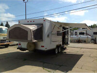 Beautiful Shamrock Hybrid Trailer for rent-WE DELIVER TO YOU