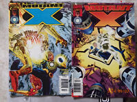 comics - Mutant X issue 29 and 30,Annual 2001-elflord in plastic