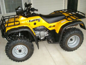 WANTED CLEAN HONDA 450 S FOREMAN