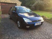 Ford Focus. 2004. 12 months MOT & TAX. Bargain
