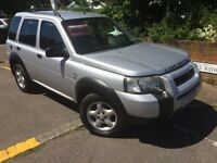 LEFT HAND DRIVE LAND ROVER FREELANDER 2004 lhd not Nissan Toyota Honda Jeep