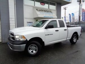 2012 Dodge Ram 1500 ST 4x4 Quad Cab, 6.5 Ft. Box, Reverse Camera