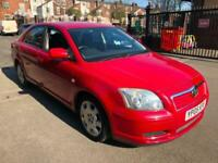 2005 Red Avensis 1.8 T2 5 Dr Hatch 43000 Genuine Miles! Full History! Reliable