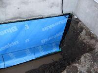 Reparations de drain fondation