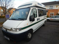 Auto Sleeper Symbol, 2000, 1.9 Diesel, 4 Berth Camper, 77K Miles, VGC For Age!