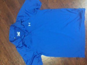 Men's Under Armour Dry Fit Golf Shirt