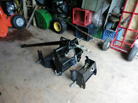 QUICK-HITCH FOR JOHN DEERE 1025R