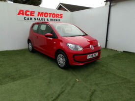 2015 VOLKSWAGEN UP! 1.0 ASG AUTOMATIC MOVE-UP ONLY 14000 MILES WITH FULL HISTORY